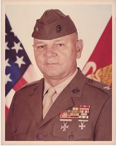 Leemon McHenry, Col, USMC, Ret