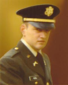 James Horn, Capt, Army