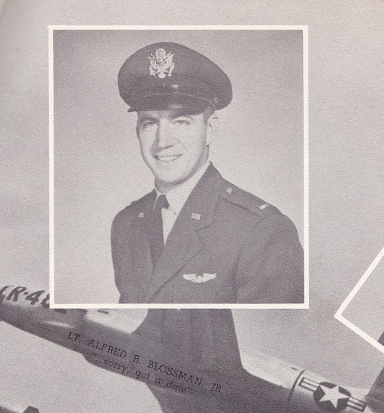 Alfred R Blossman, Jr, Capt, USAF   Vet