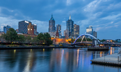 Golden Hour on the Yarra