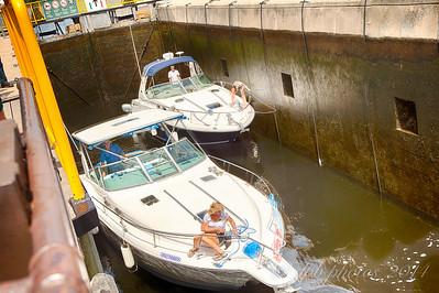 Boats in Lock