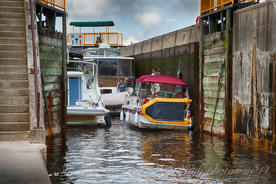 Locks at Severn Bridge