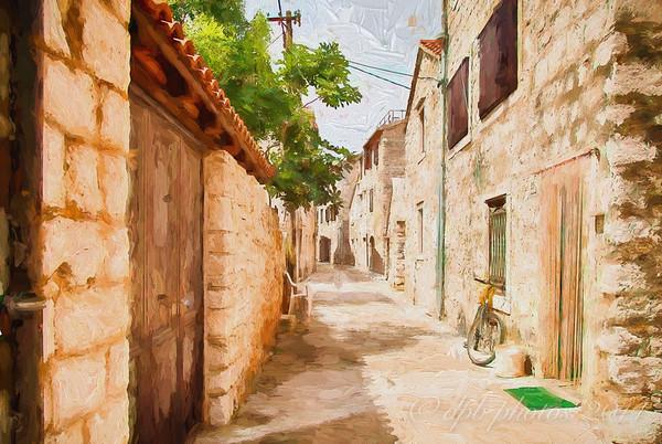 Artistic Rendering - Stari Grad Lane