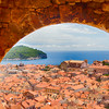 Old Dubrovnik through Arch