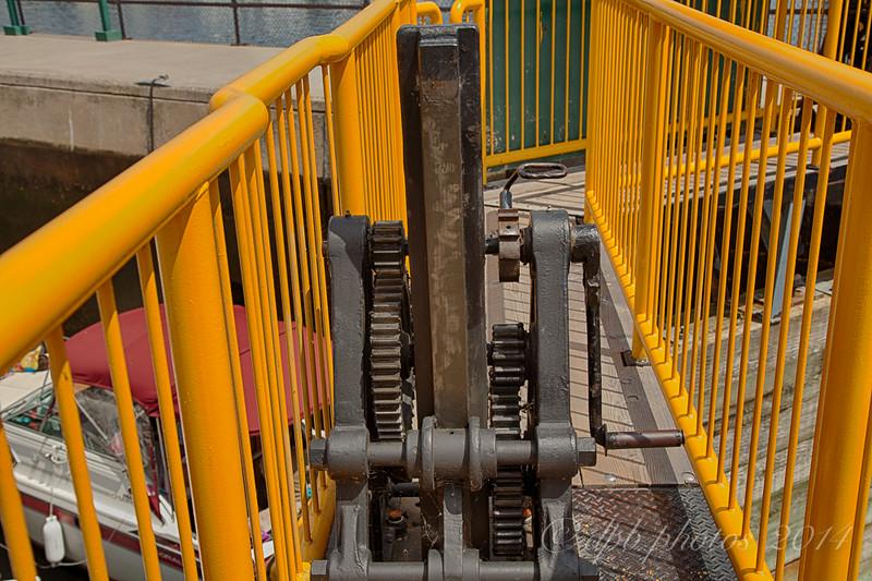 Gate Control Crank