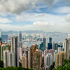 Victoria Harbour from Victoria Peak - #2