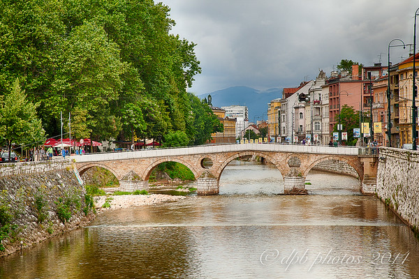 River Miljacka