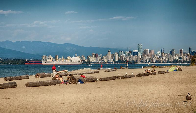 Sandy Spanish Banks Beach