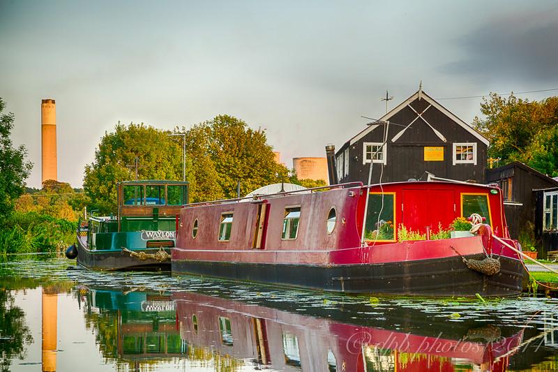 Narrowboats on the Erewash Canal