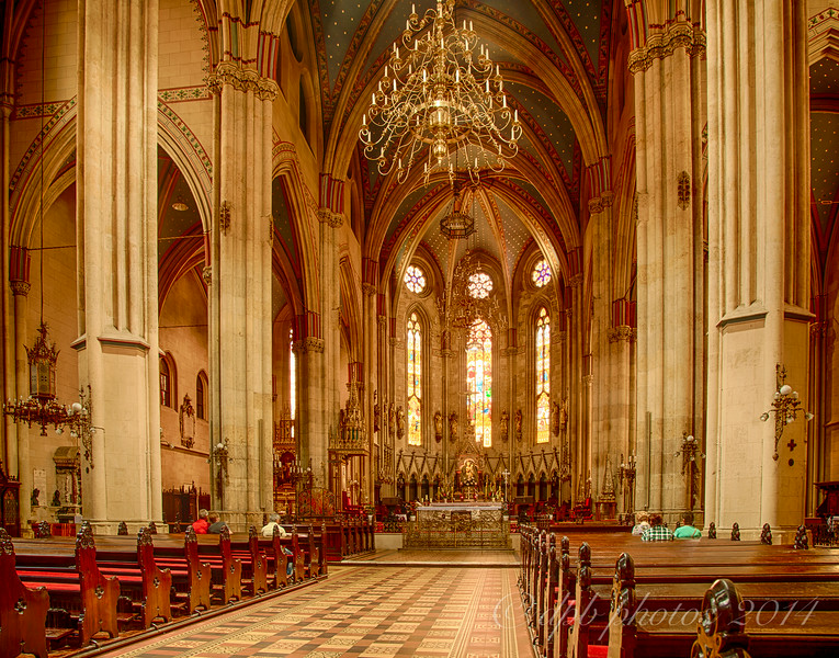 Church Interior ~ Zagreb Cathedral