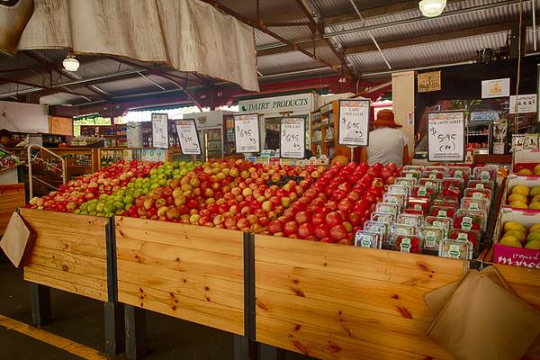 Beautiful Display of Apples
