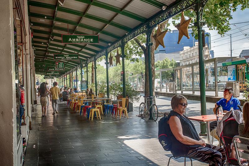 Coffee at Vic Market