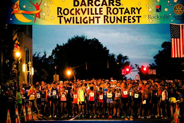 Darcars Rockville Rotary Twilight Runfest 2014