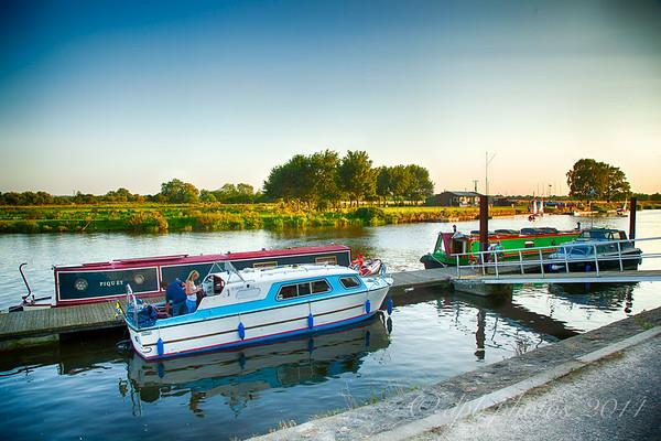 Dockside on River Trent