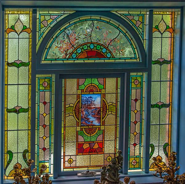 Ornate Eight Piece Window