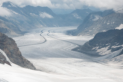 Aletsch Glacier, 22 kilometers long
