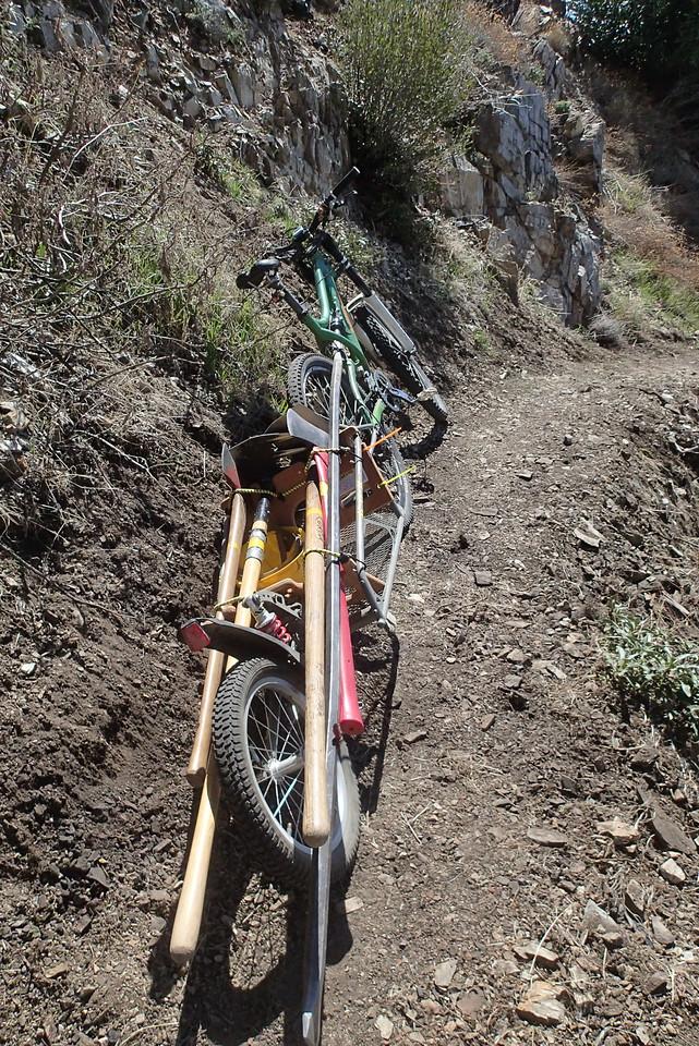 20140316041-Strawberry Peak Trailwork