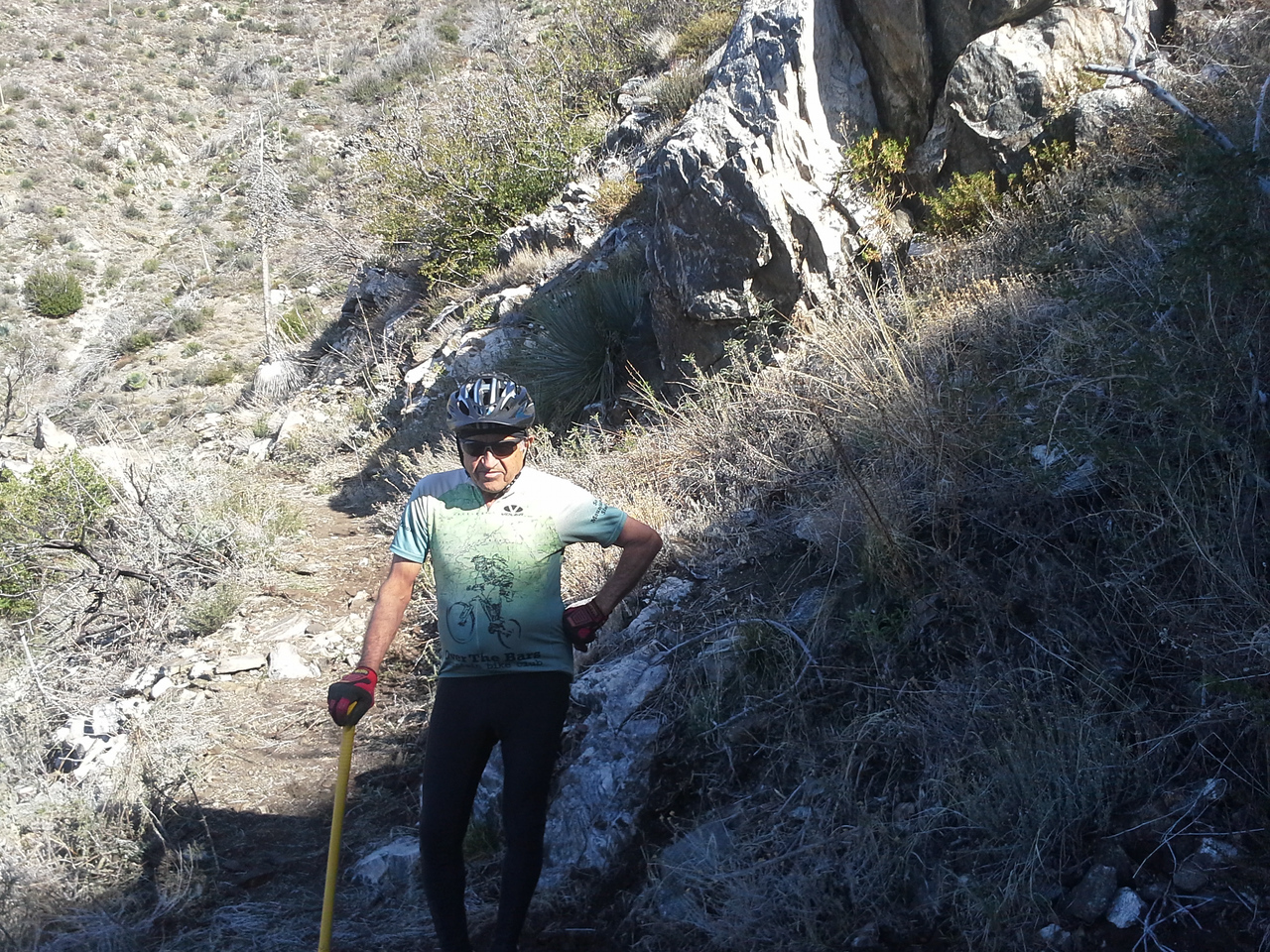 20140316004-Strawberry Peak Trailwork [Robin]