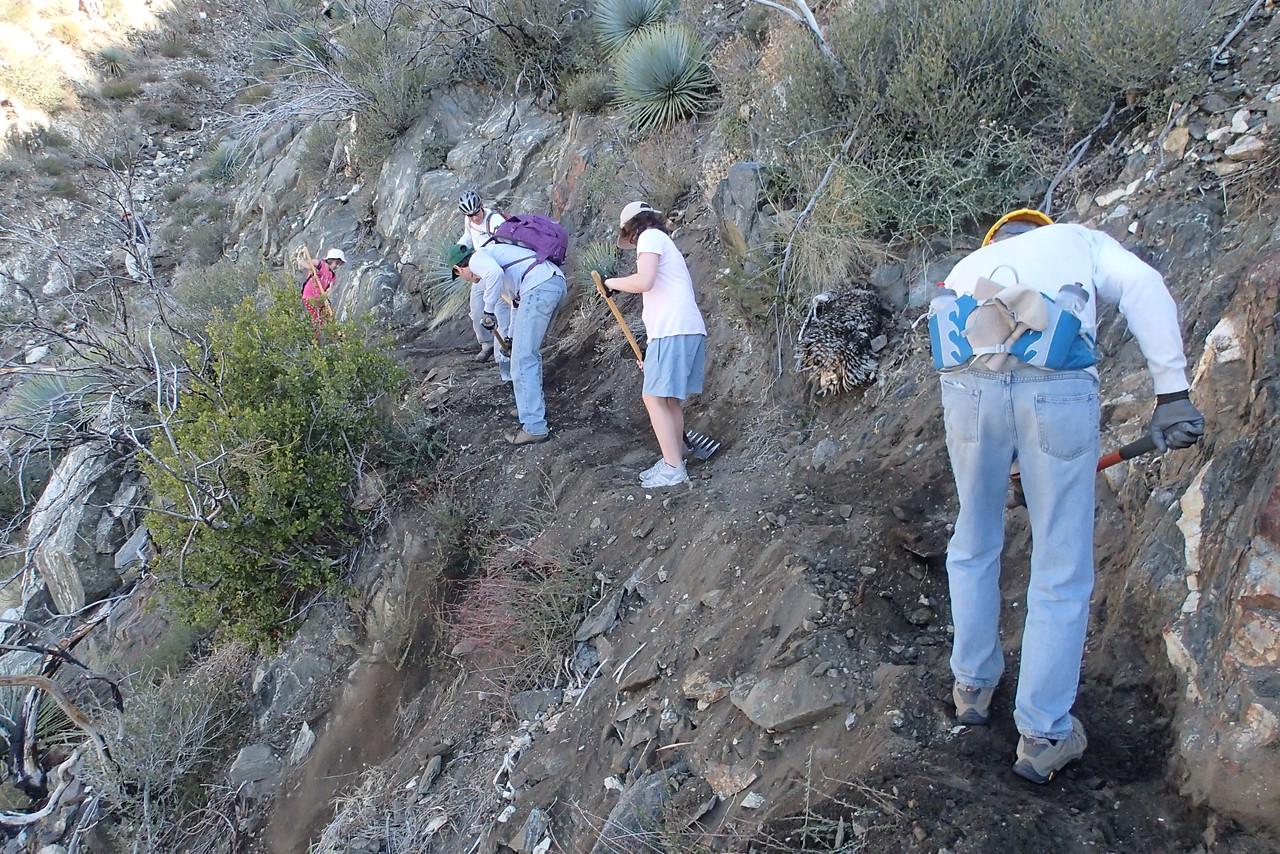 20140316004-Strawberry Peak Trailwork