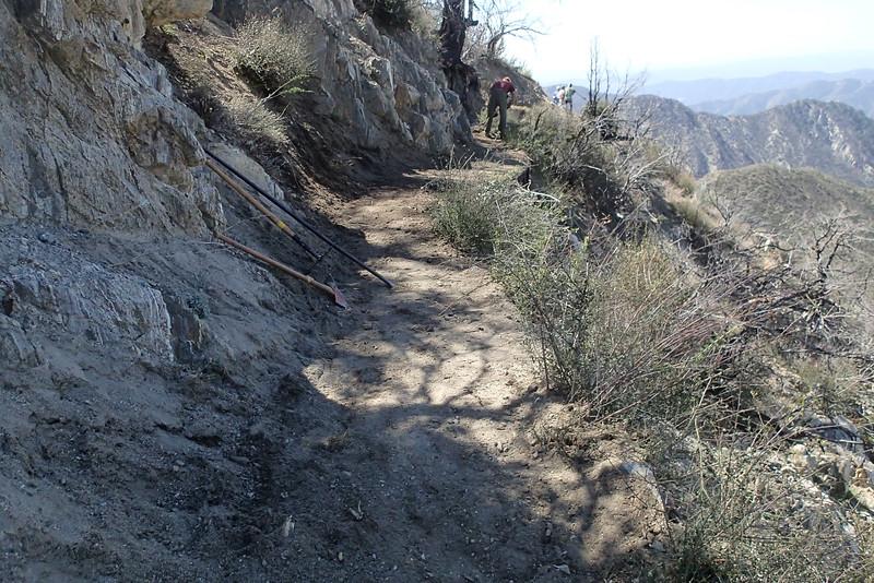 20140316021-Strawberry Peak Trailwork