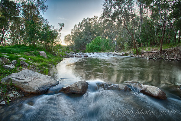 Ovens River ~ stone weir