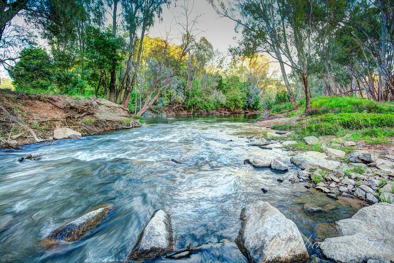 Ovens River ~ gentle rapids