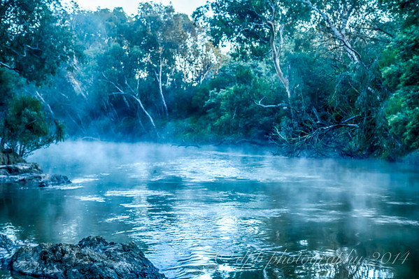 Morning Mist on the Yarra