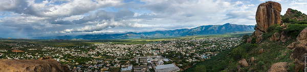 Rajapalayam - Setting for the Monsoon - June 2014 - Panorama - 8 pictures