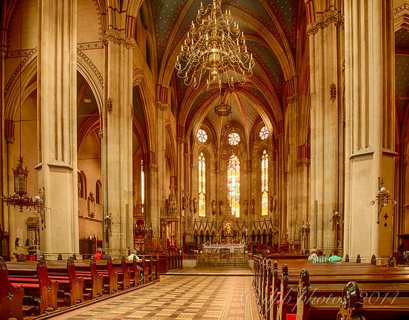 Church Interior ~ Zagreb Cathedral