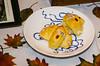 Not many turkey rolls survive dinner