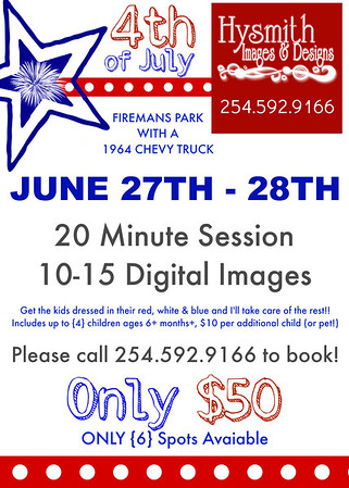 {4th of July Mini Session}