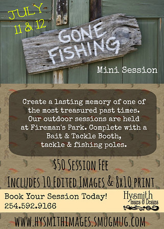 {Gone Fishin Mini Session}