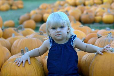 2014 Pumpkin Patch Caroline