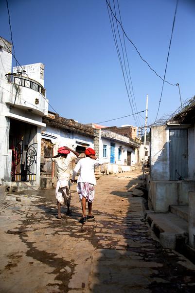A village walk