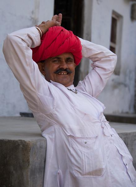 Baghdaram (age 40) strikes a pose