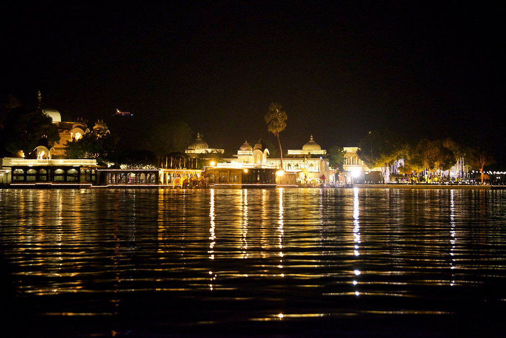 Jag Mandir on the Lake Pichola, Udaipur