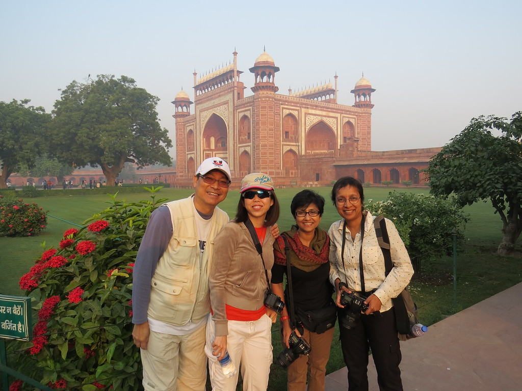 [Photo courtesy Balaram, our very eloquent guide]