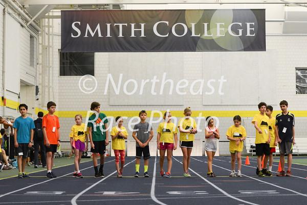 start of the kids mile run