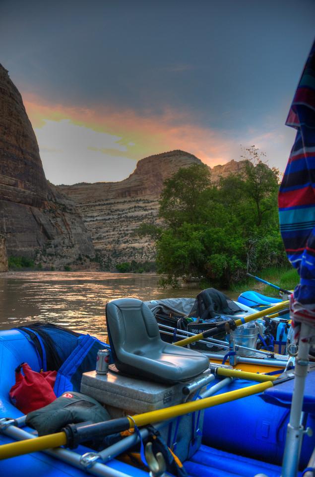 I love raft Sunsets!