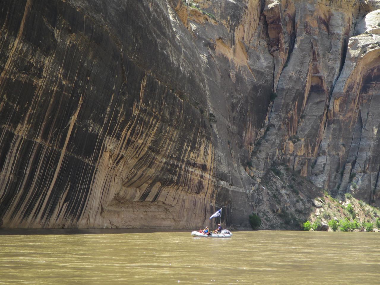 Matt's Raft at Tiger Wall