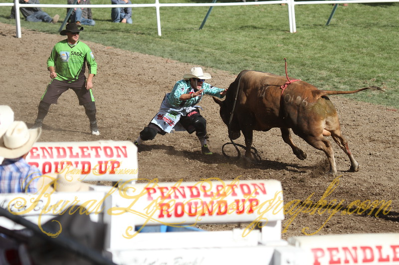 Bullfighters Donnie Griggs & Dusty Tuckness