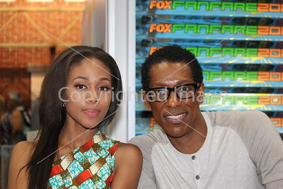 NICOLE BEHARIE, ORLANDO JONES