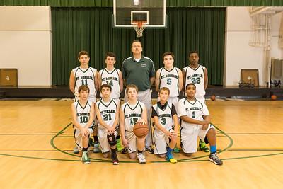 2014 SMS Grade 8 Basketball Portraits