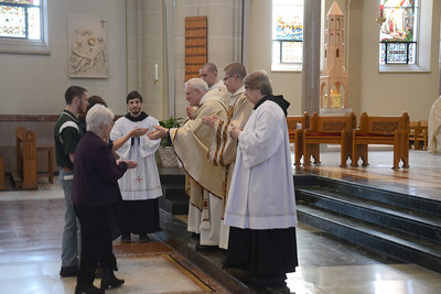 2014 Saint Benedict's Day Mass