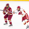 Pictured:  BC:  #27, Quinn Smith, SR, F, 5-8, 165, Fairfield, CN;  DU:  #25, Matt Tabrum, F, 5-10, 185, SR, Colorado Springs, CO
