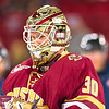 Pictured:  BC:  #30, Thatcher Demko, SO, G, 6-4, 195, San Diego, CA