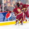 Pictured:  BC:  #18, Michael Sit, SR, F, 5-11, 175, Edina, MN; #9, Brendan Silk, JR, F, 6-3, 194, Wakefield, MA