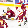 Pictured:  BC:  #30, Thatcher Demko, SO, G, 6-4, 195, San Diego, CA; #5, Michael Matheson, JR, D, 6-2, 194, Pointe-Claire, QUE; #19, Ryan Fitzgerald, SO, F, 5-10, 177, North Reading, MA; DU:  #9, Gabe Levin, F, 5-7, 160, JR, Marina del Rey, CA