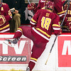 Pictured:  BC:  #18, Michael Sit, SR, F, 5-11, 175, Edina, MN