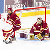 Pictured:  BC:  #30, Thatcher Demko, SO, G, 6-4, 195, San Diego, CA; #11, Chris Calnan, SO, F, 6-2, 209, Norwell, MA;  DU:  #11, Nolan Zajac, D, 5-10, 180, JR, Winnipeg, MAN